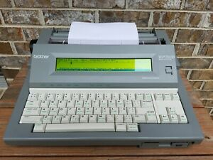 Brother Wp 760d Electronic Word Processor Typewriter Very Clean Tested Works