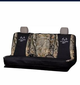 New Realtree Outfitters Full Size Bench Seat Cover Camo Water Repell Fabic