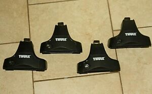 Thule Rapid Traverse Towers Foot Pack Product 754 480 Set Of 4