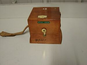 Taylor Taylor Hobson 112 5 8 Optical Square Metrology Beautiful Case