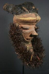 African Mbuya Forehead Mask Pende D R Congo African Tribal Art Primitive