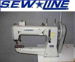 Sewline Sl 441 New Extra Heavy Duty Walking Foot Industrial Sewing Machine