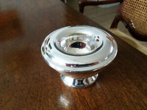 Lovely Silver Plated Candle Holder Wide Top Easy Candle Assembly India