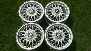 Bmw E30 Bbs Basketweave Rims Straight No Bends No Repairs Ride Smooth