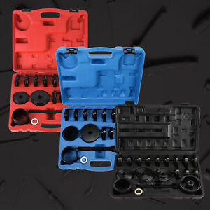 23pc Fwd Front Wheel Drive Bearing Removal Adapter Puller Pulley Tool Kit Pmc
