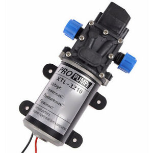 12v 8l min Caravan Garden Sprinkler High Pressure Self priming Water Pump Hot