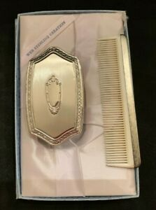 Vintage Web Sterling Silver Child S Brush And Comb Set Free Shipping