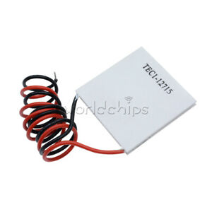 1 2 5 10pcs Tec1 12715 Thermoelectric Heatsink Cooler Cooling Peltierplate