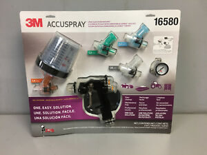 3m Accuspray One Spray Gun System With Pps 16580 Authorized 3m Distributor