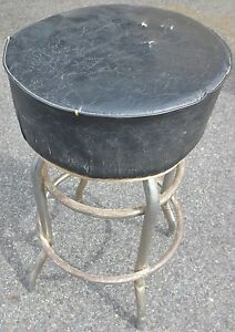 Vintage Swivel Drafting Stool Industrial Architect Steampunk