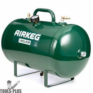 Rolair Airkeg2 Portable Air Storage Tank And Air Compressor Accessory New