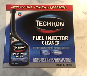 18 Bottles Of Techron Fuel Injector Cleaner 3 X 6 Multi car Pack 16 Fl Oz Each