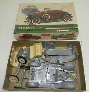 Nos Hubley Model A Ford Roadster Metal Kit Die Cast No 850k 300 Very Rare Kit