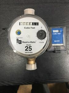Badger 5 8x3 4 M25 New Water Meter Pulse With Remote