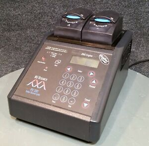 Mj Research Ptc 200 Dna Engine Pcr Thermal Cycler W Dual 48 well Alpha Block