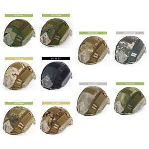 WST Tactical Paintball Military Camo Helmet Cover for Airsoft FAST MH PJ Helmet $9.40