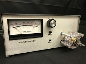 Cole Parmer Masterflex Peristaltic Pump Model 7565 Tested