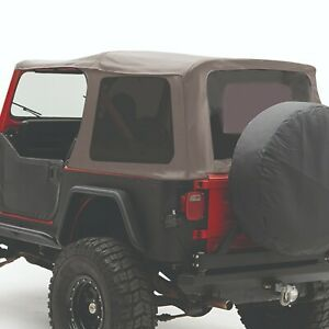 Smittybilt 9870211 in Stock Replacement Soft Top 87 95 Jeep Wrangler Yj