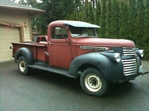 1941 Gmc Pickup Truck Historical Paperwork Document Project
