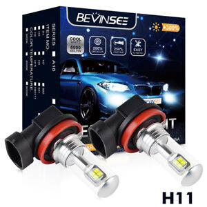 2pcs H11 H8 Led Fog Light Bulb For Audi A3 A4 A5 A6 A8 Quattro Q3 Q5 Q7 Allroad
