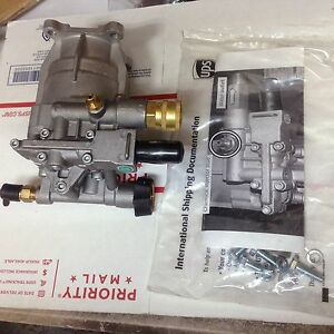 New Horizontal Pressure Washer Pump 2750 Fits All 3 4 Side Shaft Engines