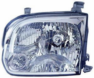 For 2005 2006 Toyota Tundra Double Cab Sequoia Headlight Headlamp Driver Side