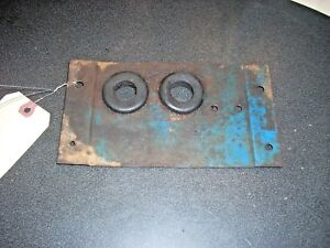Ford 7600 Tractor Front Support Access Baffle D4nn8n099a