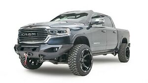 Fab Fours Dr19 X4251 1 In Stock Matrix Front Bumper 2019 Ram 1500