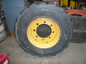 12 X 16 5 Skid Loader Tractor Tire And Wheel