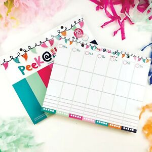 Weekly Planner Pad Daily Vertical Layout Tear Off To Do List Best 2018 Planning
