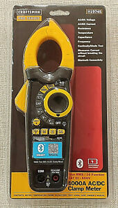Craftsman Proseries 1000a Ac dc True Rms Clamp Meter 19745