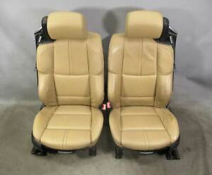 2008 2013 Bmw E93 M3 Convertible Factory Sports Seats Bamboo Beige Leather Oem