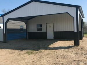 Steel Metal Buildings Built On Your Land Available In 14 Colors