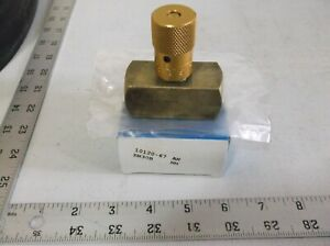 Deltrol Fluid Brass Needle Valve 10120 69 En30b