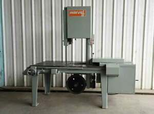 Armstrong marvel Vertical Band Saw Capacity 18 X 18 1 Hp