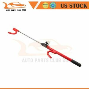 For The Club Steering Wheel Lock Yellow Truck Suv Van Anti Theft 21 26 3 35 Inch
