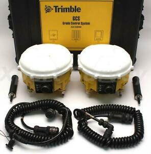 Trimble Cat Ms990 Rtk Gps Glonass Grade Control Receiver Set Gcs900 55760 00