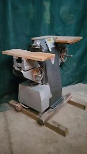 Porter 165 Buck Shaper Woodworking Router Double Spindle