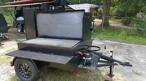 Perfect Draft Blower Bbq Smoker W Grill Trailer Food Truck Catering Concession