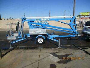 Tennant 528 Ride On Floor Scrubber Sweeper Propane Only 980 Hours Very Nice