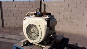 Wisconsin Vg4d Natural Gas Engine In Excellent Condition