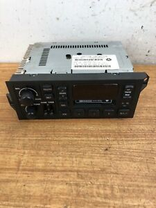 Dodge Stratus plymouth Breeze Oem Cassette Player Radio Stereo P56038937ab