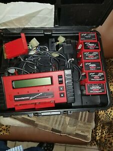 Snap On Mt2500 Diagnostic Scanner With Cartridges Keys And Lots More