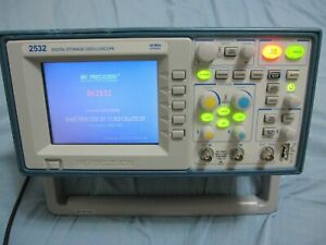 Bk Precision 40 Mhz 500 Msa s Digital Storage Oscilloscope Model 2532