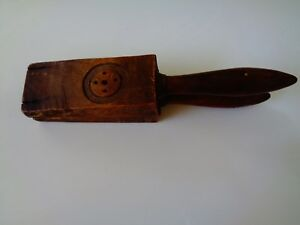 Vintage Wooden Juice Press 10 2 Long 2 Base Across