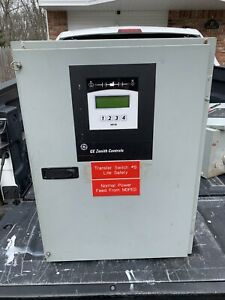 Ge Zenith Mx150 120 208v 80 Amp Automatic Transfer Switch Controller