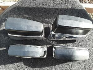 Vintage 1973 Dodge Dart Front And Back Bumper Guards