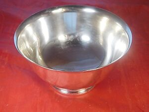 Vintage International Sterling Silver Paul Revere Reproduction Bowl D329