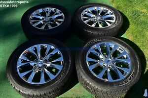 20 Ford F150 Oem Factory Chrome Pvd Wheels Tires Expedition 2016 2017