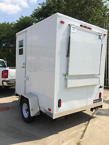 Food Concession Trailer 6 X 8 Start Your New Business Low Overhead